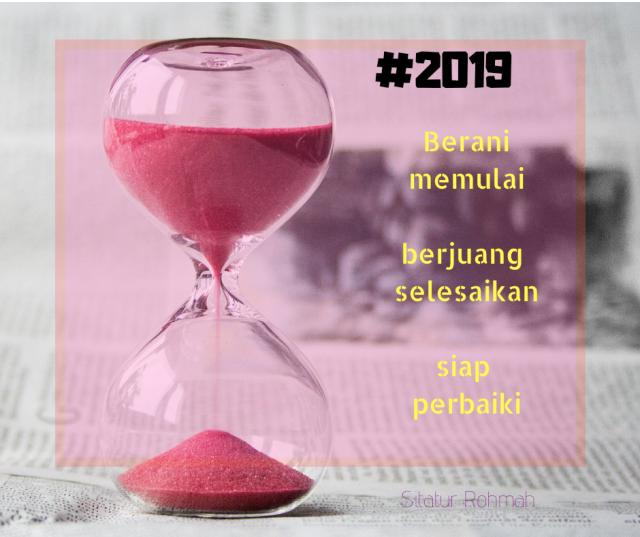 Resolusi 2018 dan Mimpi di 2019