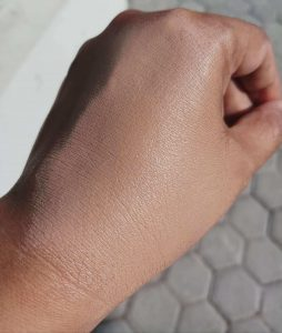 Review Wardah Foundation_after use