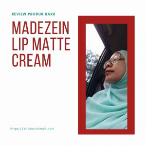 Review Madezein lip matte