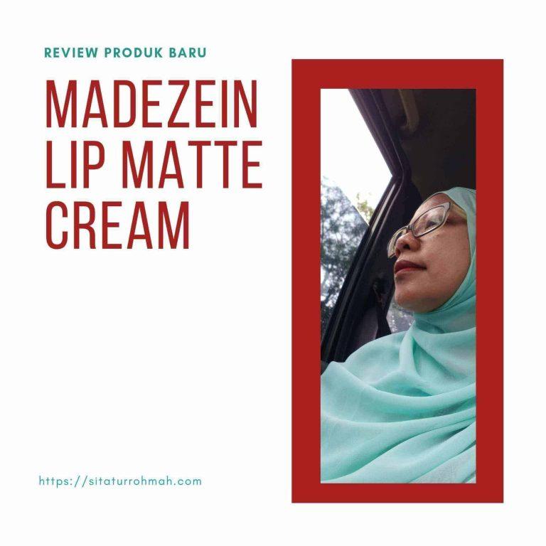 Review Madezein lip matte