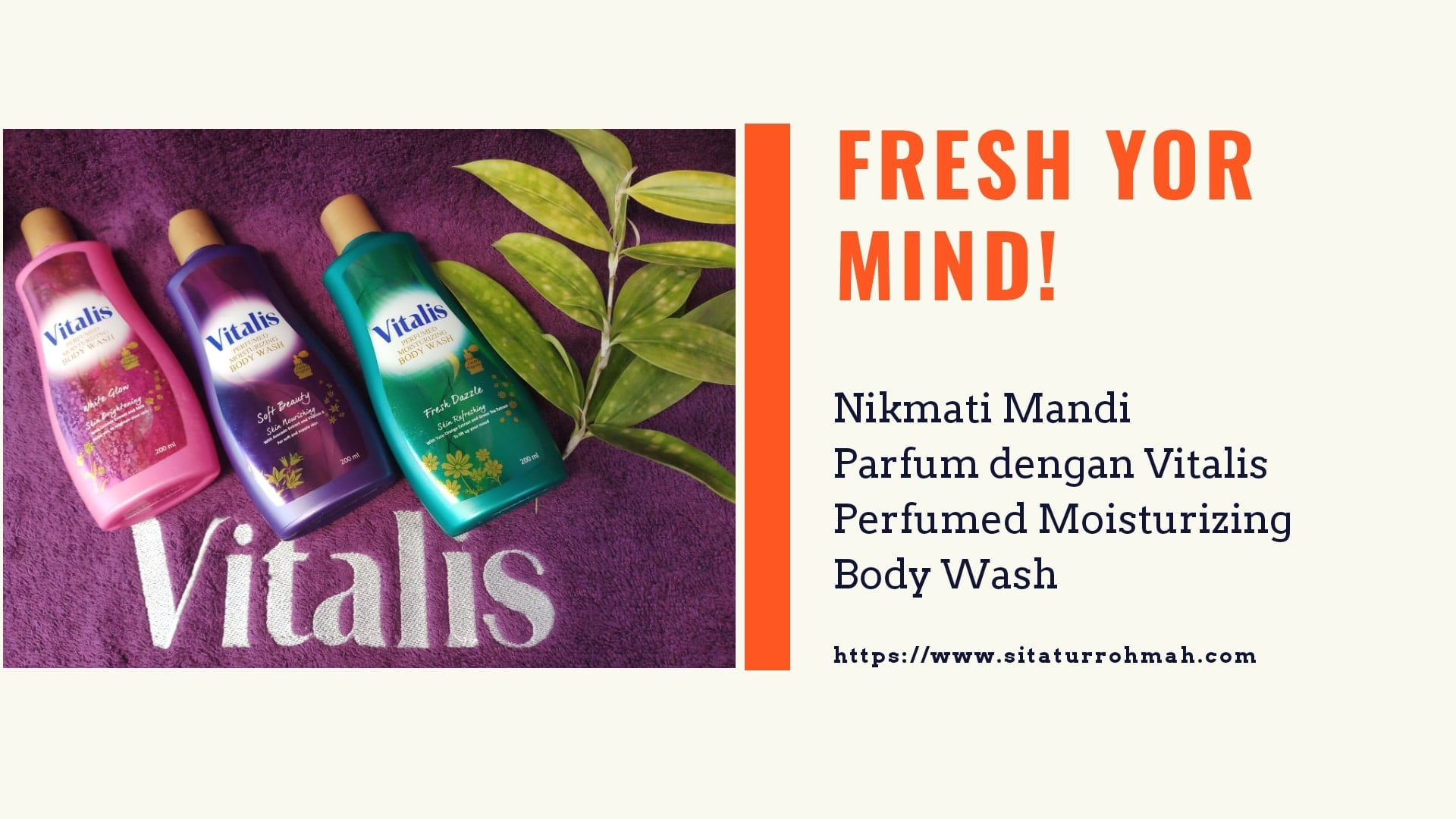 Vitalis body wash banner blog