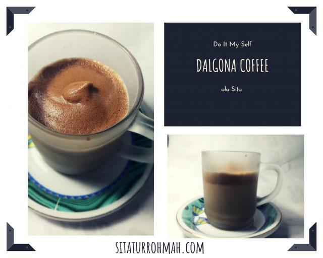 Dalgona Coffee ala Sita