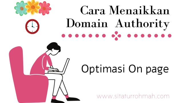 Cara Menaikkan Domain Authority_on page