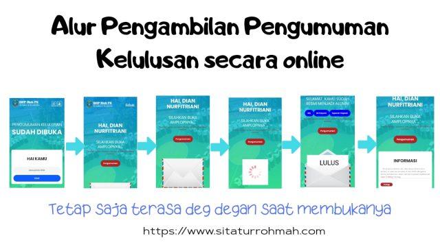 pengumuman kelulusan_pengambilan amplop online