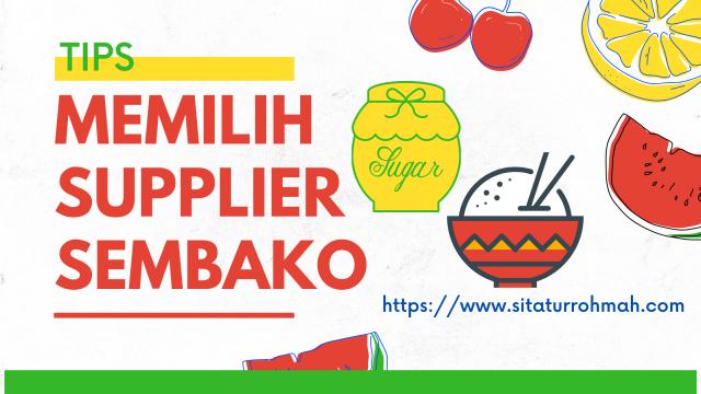 Supplier sembako_sitaturrohmah.com