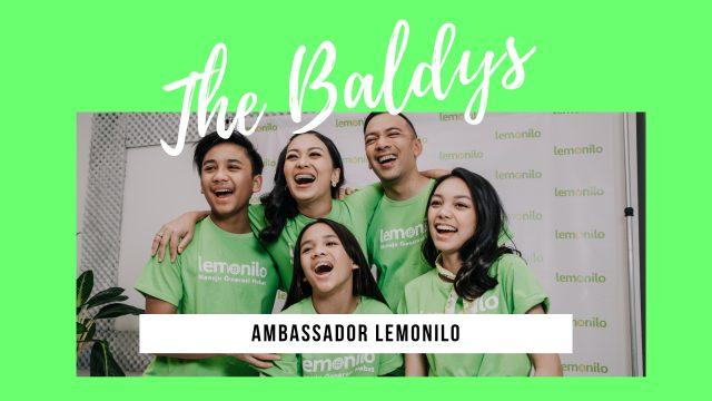 Ini dia Brand Ambassador Lemonilo: The Baldys!