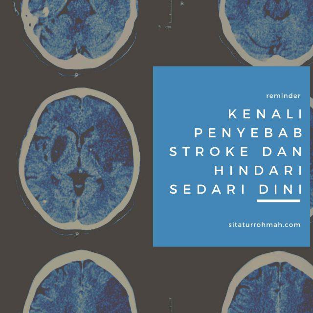 mencegah sejak dini penyakit stroke yang dialami
