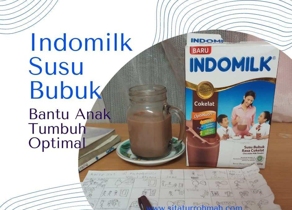 Indomilk Susu Bubuk Bantu Anak Tumbuh Optimal