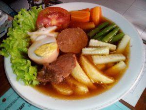 makanan khas Solo Selat