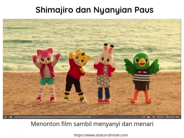 Shimajiro dan Nyanyian Paus_petualangan