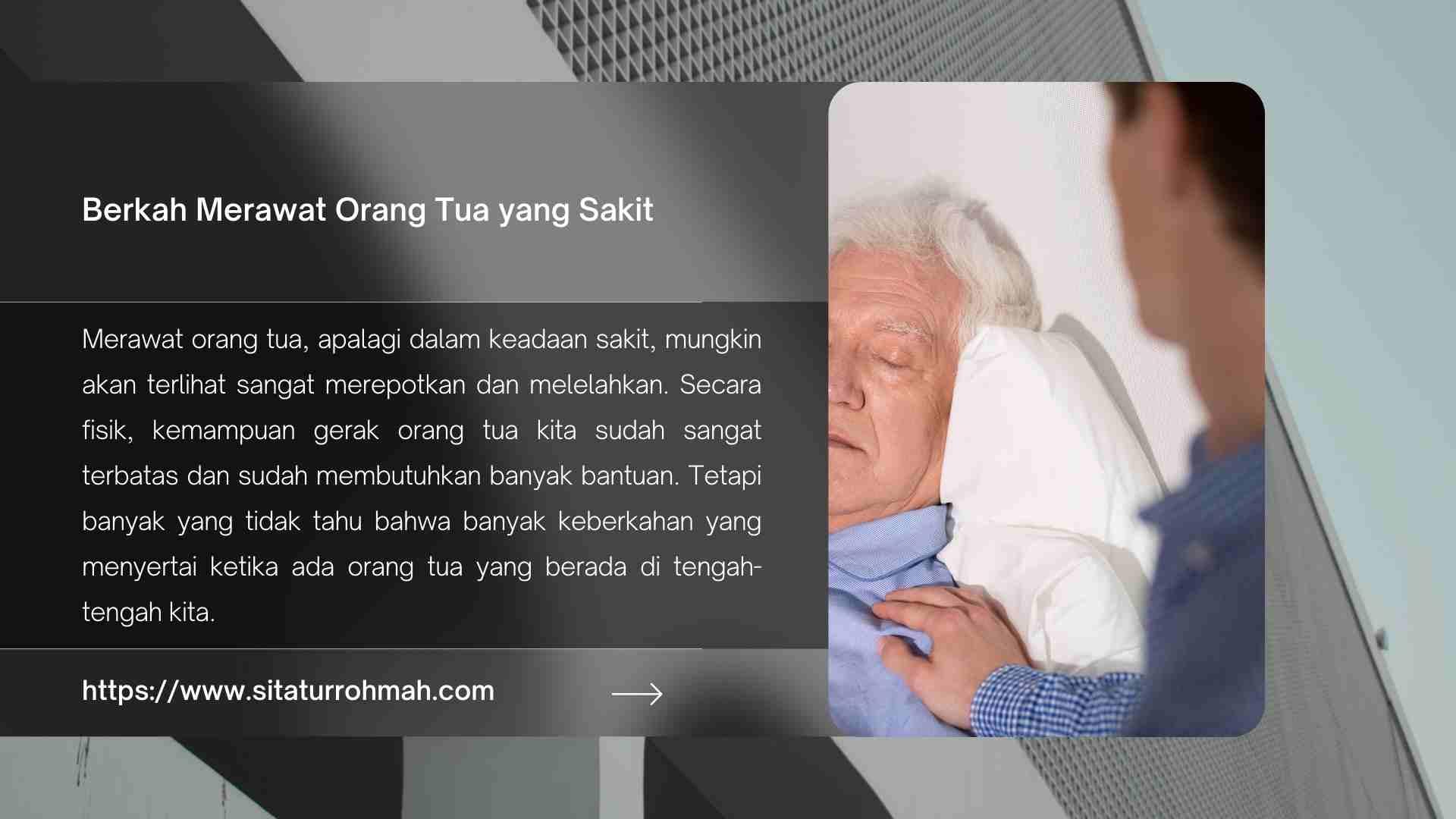 hikmah merawat orang tua