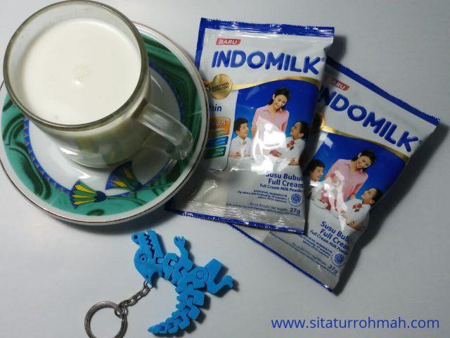 Susu bubuk Indomilk sachet
