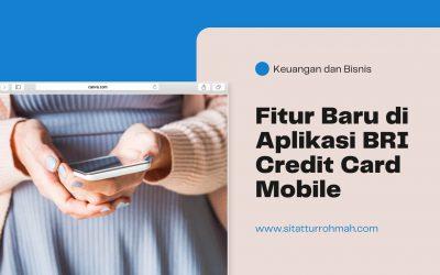 Fitur Baru di Aplikasi Credit Card Mobile
