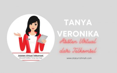 Tanya Veronika Asisten Virtual Chatbot Keren dari Telkomsel