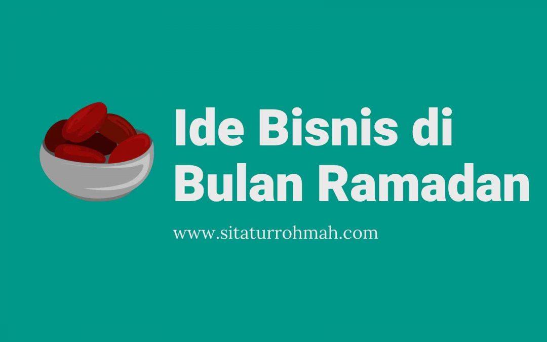 5 Ide Bisnis di Bulan Ramadan