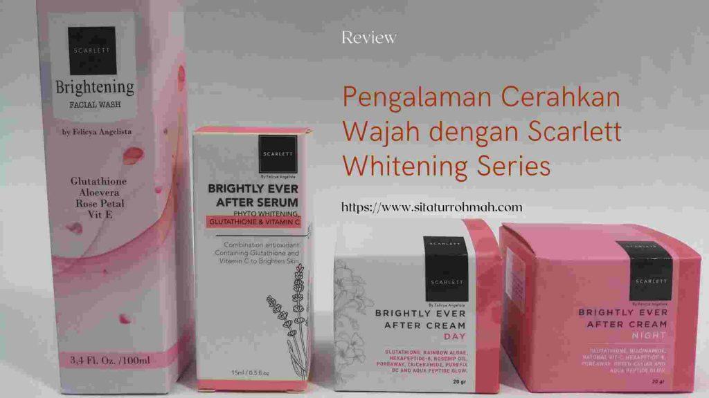 Review Scarlett Whitening Cream