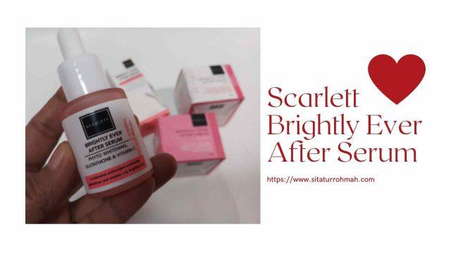 scarlett whitening series