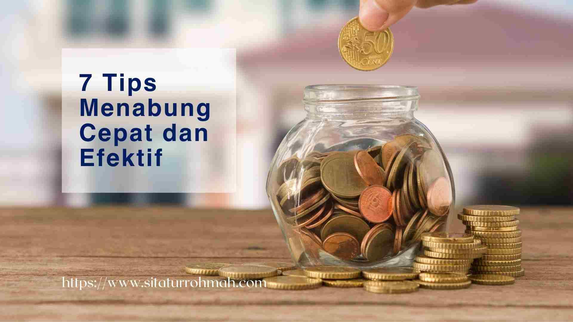 tips menabung