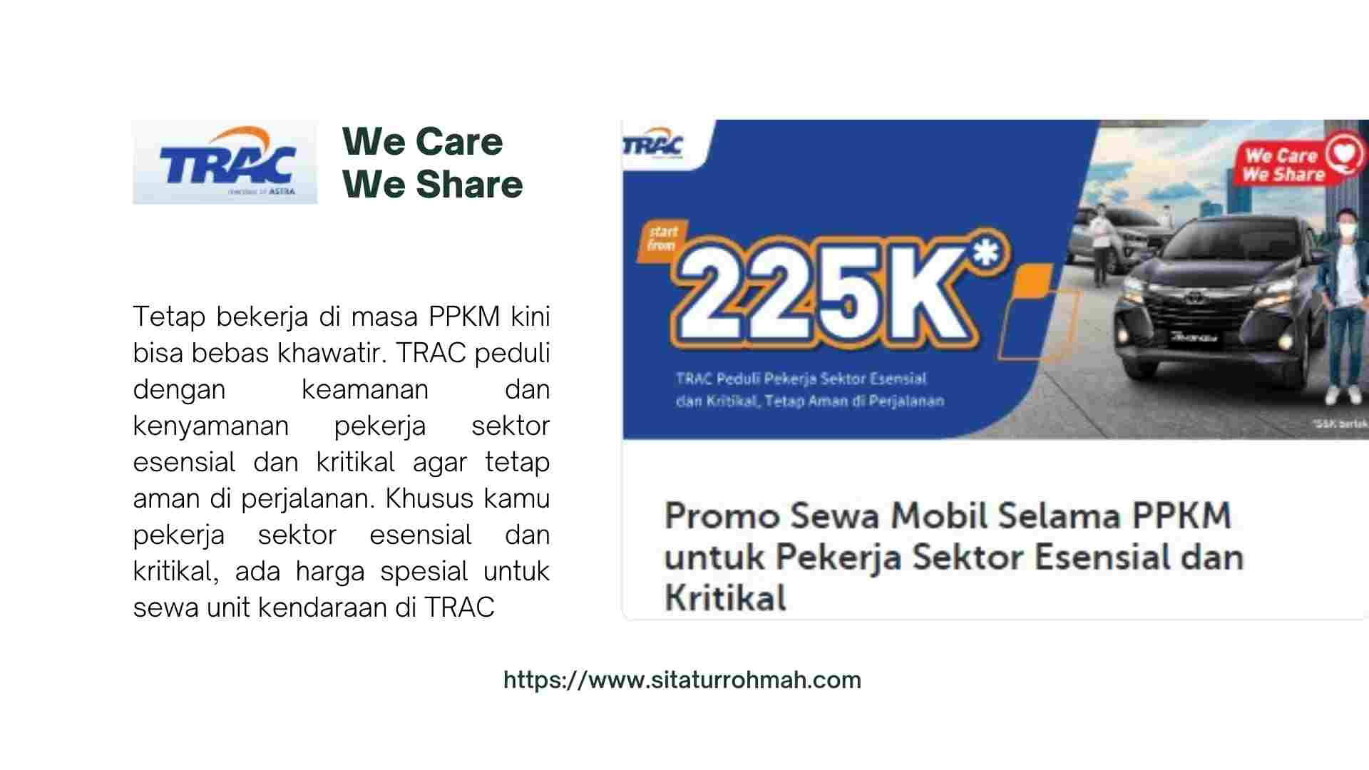 trac we care we share