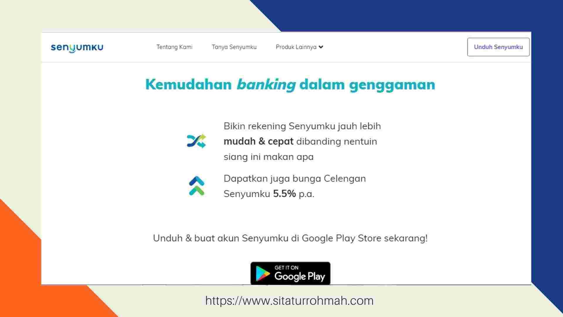 kemudahan buka rekening online