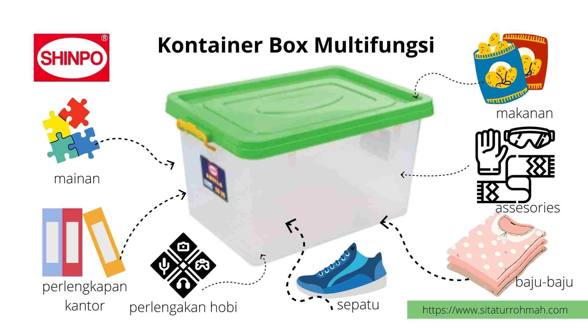 cara menata kamar tidur ukuran 3x3 dengan box container