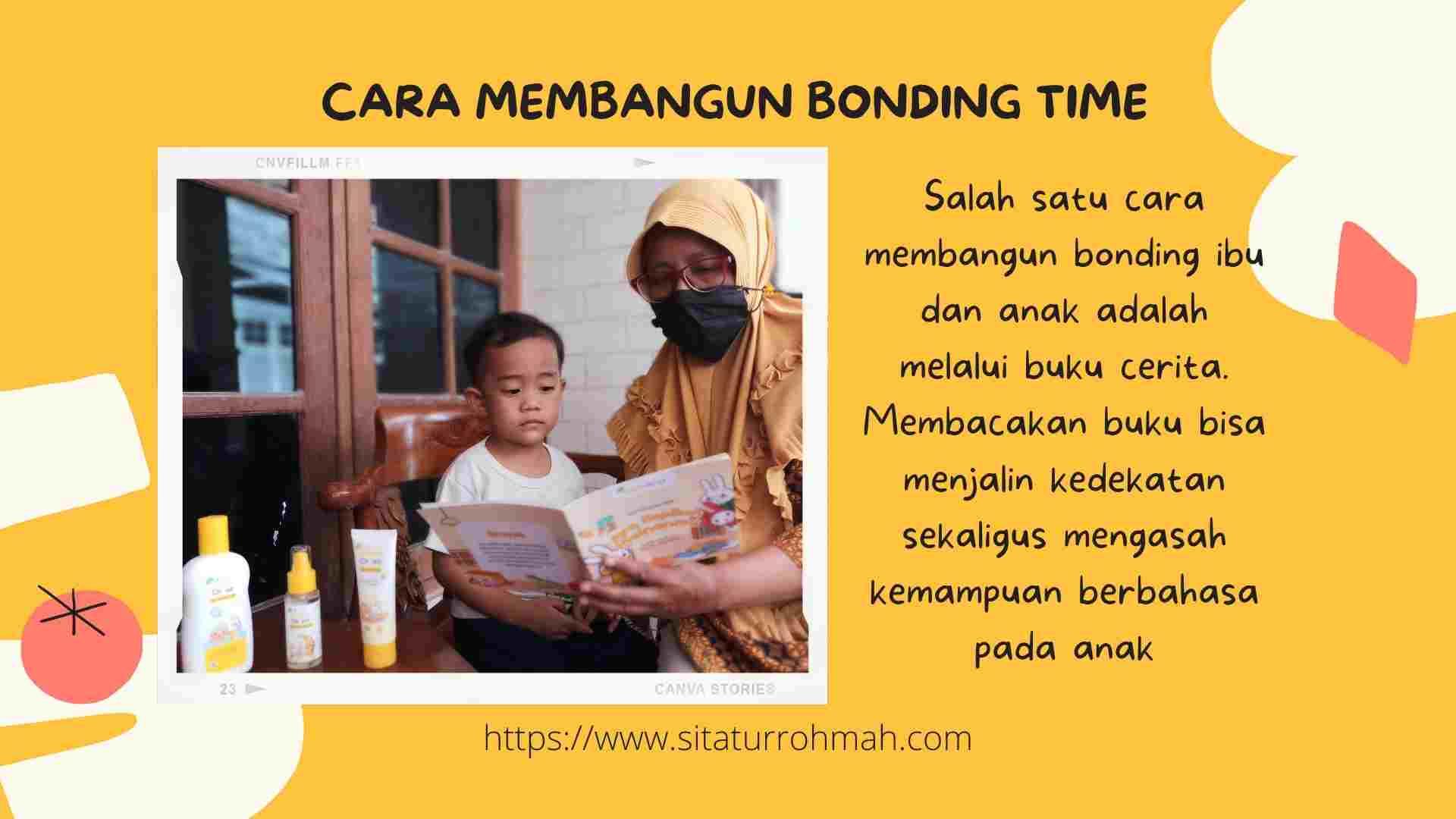 Manfaat bonding ibu dan anak dari membaca buku cerita